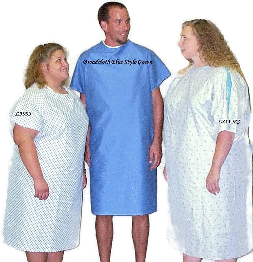 Patient Hospital Gowns | Alderman Acres Manufacturing