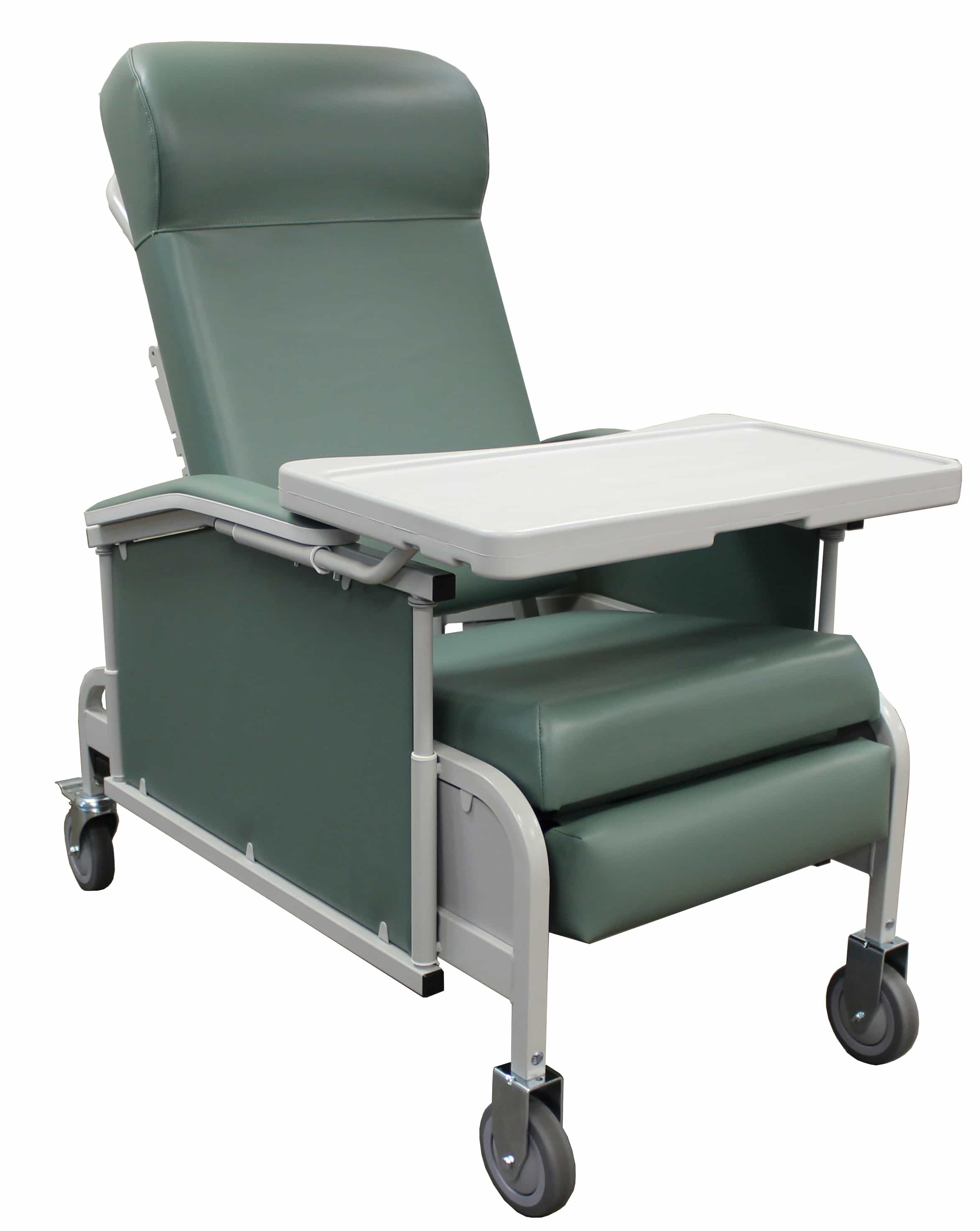 Drop Arm Convalescent Recliner with Tray  sc 1 st  Alderman Acres Manufacturing & Clinical Recliners u0026 Chairs - Non-Trendelenburg | Alderman Acres ... islam-shia.org